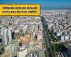Türk Gayrimenkul ve İnşaat Sektörüne Bakış!