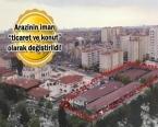 Zeytinburnu Oto Sanayi Sitesi arazisi imara açıldı!