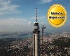 Küçük Çamlıca TV -Radyo Kulesi havadan görüntülendi!