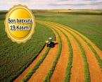 Hazineye ait tarım arazileri kiraya veriliyor!