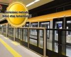 Çekmeköy-Yamanevler Metrosu'nda çalışmalar tamam!