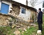 Balıkesir'de deprem bölgesinde hasar tespit ediliyor!