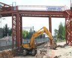 Sekapark - Plajyolu tramvay hattında çalışmalar sürüyor!