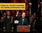 Erdoğan: Bu ülkede dolar ve euro ile kira mira yok!