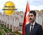 TOKİ 50 bin konut projesine 200 bini aşkın başvuru!