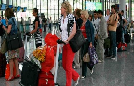 Antalya'daki yabancı turist