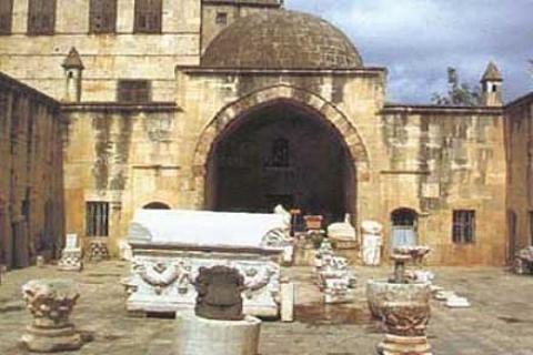 Kubat Paşa Medresesi'nin restorasyonunda taban mozaiği bulundu!
