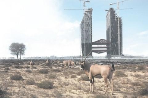 Richard Allenby-Pratt'in kabusu gerçek oluyor: Dubai'de çöle kayak merkezi yapılacak!
