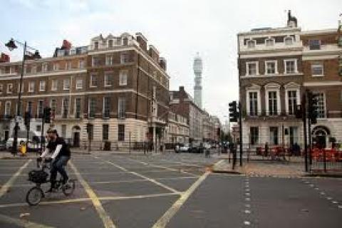 Londra sokakları olimpiyatlar için yenileniyor!
