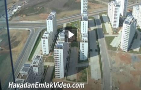 TOKİ Kayaşehir'den havadan video!