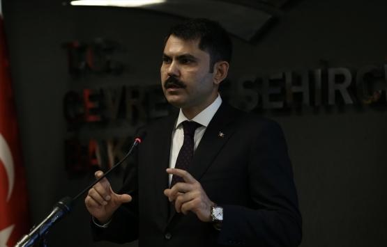 Bakan Murat Kurum'un