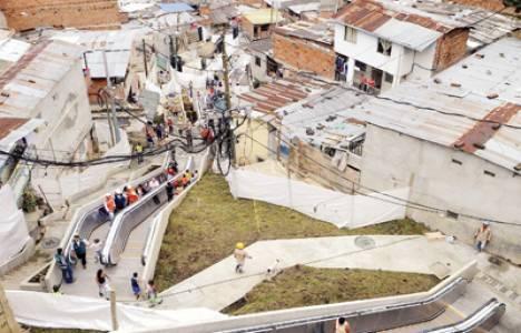 Kolombiya'nın en büyük ikinci kenti Medellin örneği!