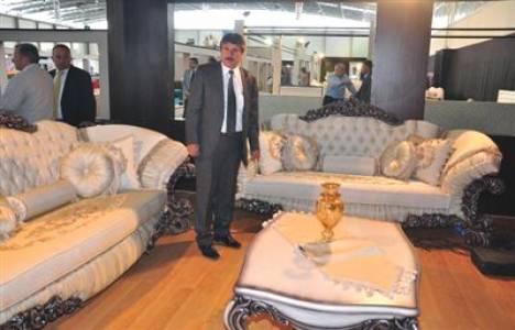 Adana Mobilya ve Dekorasyon Fuarı'nda 45 bin TL'ye koltuk!