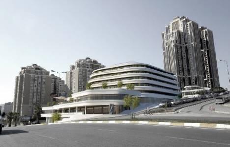 Bulvar 216 Ataşehir 5 bin 800 metrekare arsa alanına sahip!