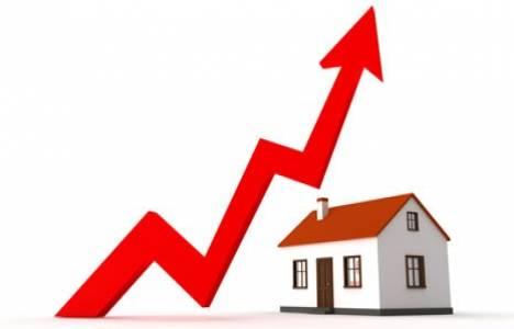 Türkiye'de konut fiyatları yüzde 12,05 arttı!