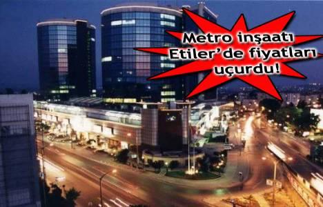 Etiler metro inşaatı başladı, emlak fiyatları tavan yaptı!