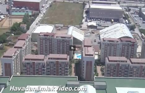 Sardunya Evleri Samandıra'nın havadan yeni görüntüleri!