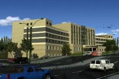 Sadık Özgür Divriği Devlet Hastanesi'nin temeli atıldı