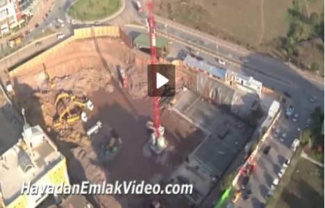 Work Square Kurtköy projesi havadan görüntülendi!