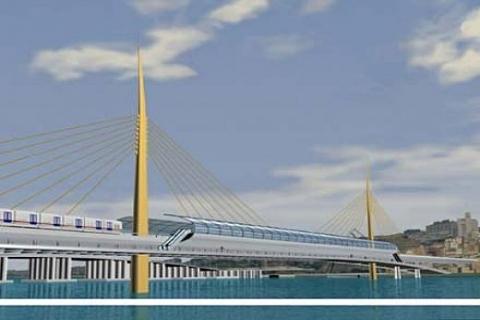 Haliç metro köprüsünün