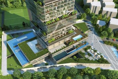 İstanbloom'un kaba inşaatının yüzde 85'i tamamlandı!