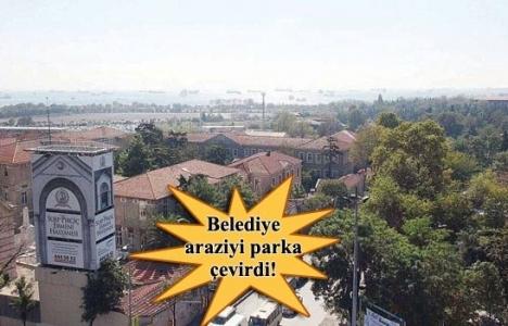 Zeytinburnu'ndaki vakıf arazisinde