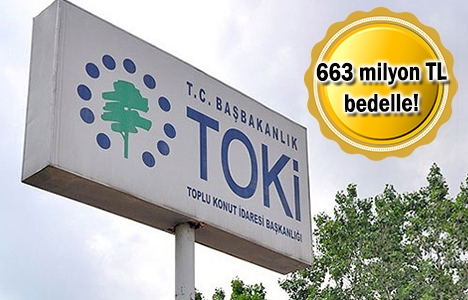 TOKİ'den satılık 54