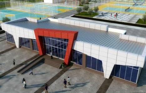 Bor Gençlik Merkezi'nin yapımına başlandı!
