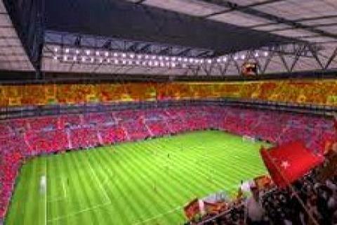TT Arena Stadı'nı Rehau ısıtıyor!