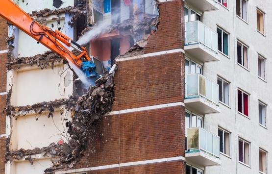 Rize'de kentsel dönüşüm gerginliği: Evlerine giremiyorlar!