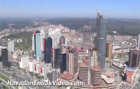 Windowist Tower Maslak 'ın havadan görüntüleri!