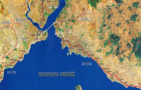 Marmaray güzergahı!