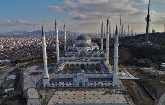 Çamlıca Camii'nin yüzde