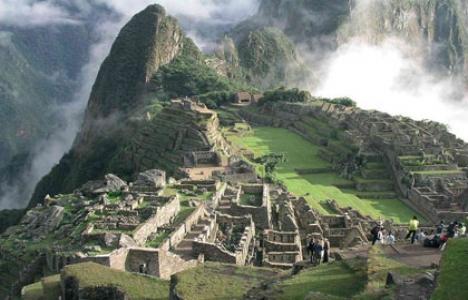 Machu Picchu'ya