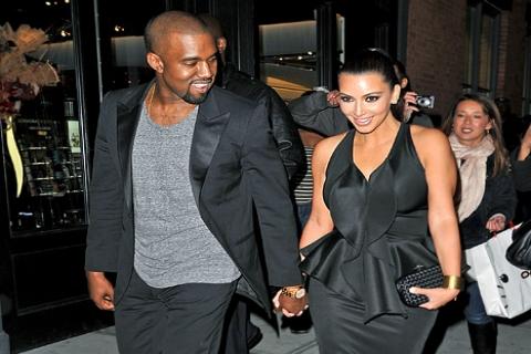 Kim Kardashian sevgilisi Kanye West'le ev arıyor!