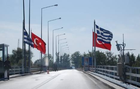 Meriç'teki Yunan sınır