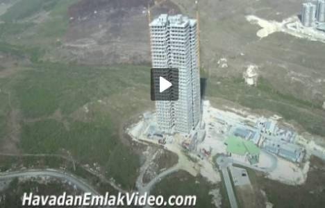Nissa O2 Ispartakule Evleri'nin havadan videosu!