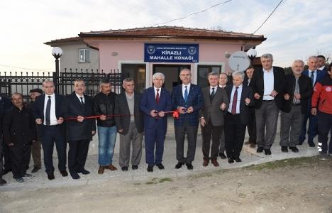 Bursa Kirazlı Mahalle Konağı hizmete açıldı!
