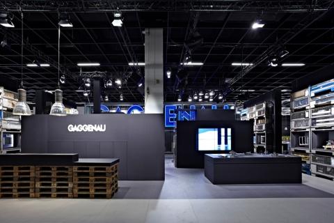 Sven Baacke, Gaggenau Eurocucino Fuar standını tasarladı!