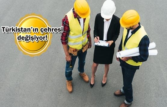 Türk inşaat firmalarından Kazakistan'a yatırım!