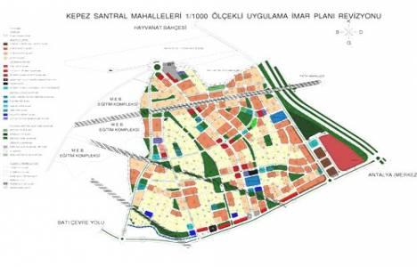 Antalya Kepez ve Santral mahallelerinde tapular verilecek!