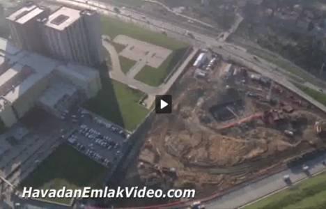 Dumankaya Miks Halkalı Evleri'nin havadan son görüntüleri!