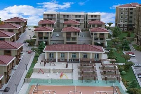 Başakşehir Konakları'nda 700 bin TL'ye villa!