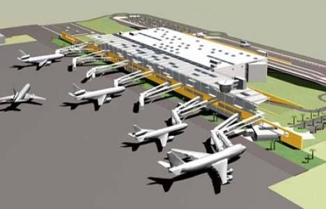 Bodrum Uluslararası Havalimanı Projesi'ne birincilik!