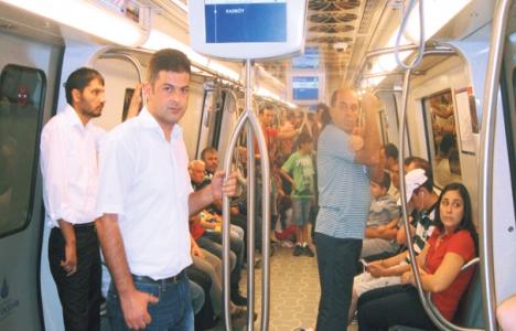 Anadolu yakasında metro bayramı yaşanıyor!