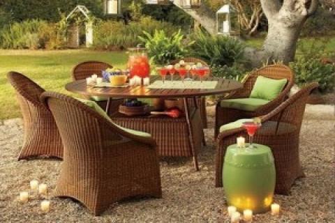Bahçe mobilyaları,