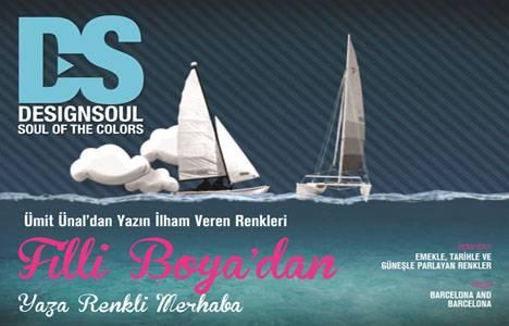 Filli Boya Design Soul Dergisi 3. sayısıyla yaza merhaba diyor!