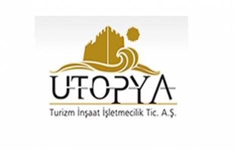 Ütopya Turizm İnşaat sermaye payı yüzde 4 sınırına ulaştı!