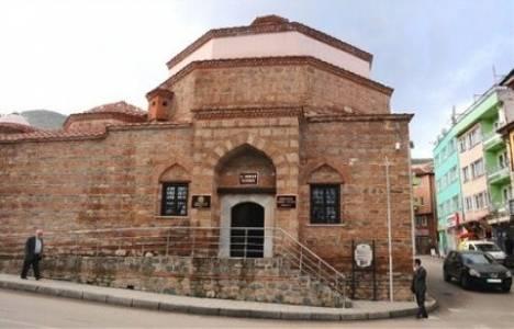 Bursa'da tarihi İncirli Hamamı restore edilerek kültür merkezi yapıldı!