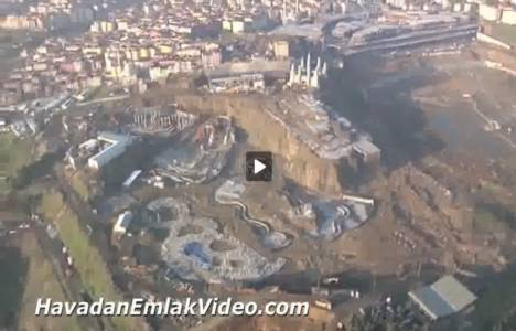 Vialand Eyüp'ün son durumu havadan görüntülendi!